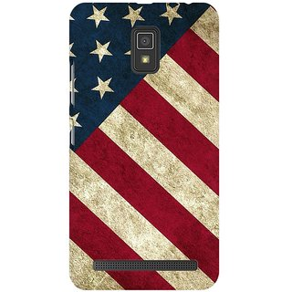 Mobicture America Premium Printed High Quality Polycarbonate Hard Back Case Cover For Lenovo A6600 With Edge To Edge Printing