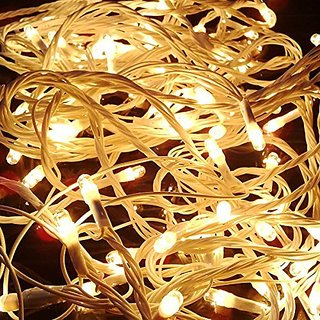Alpha  Yellow Colored Decorative RICE Lights, 15 metre Long