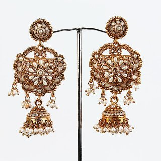 Gold Plated Wedding Earring