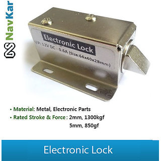 actuator electric door lock solenoid lock cabinet lock access control lock