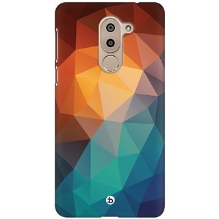 Mobicture Abstract Design Premium Printed High Quality Polycarbonate Hard Back Case Cover For Huawei Honor 6X With Edge To Edge Printing