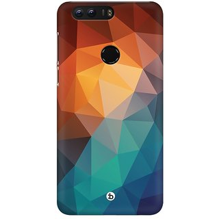 Mobicture Abstract Design Premium Printed High Quality Polycarbonate Hard Back Case Cover For Huawei Honor 8 With Edge To Edge Printing