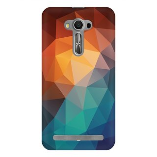 Mobicture Abstract Design Premium Printed High Quality Polycarbonate Hard Back Case Cover For Asus Zenfone 2 Laser ZE550KL With Edge To Edge Printing