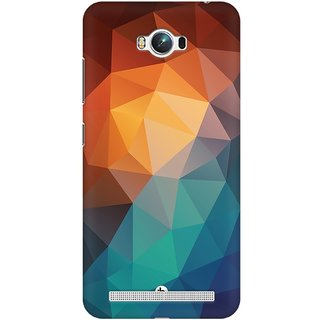 Mobicture Abstract Design Premium Printed High Quality Polycarbonate Hard Back Case Cover For Asus Zenfone Max With Edge To Edge Printing