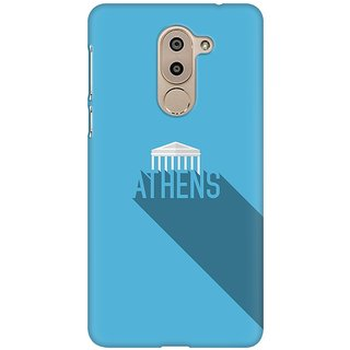 Mobicture Athens Premium Printed High Quality Polycarbonate Hard Back Case Cover For Huawei Honor 6X With Edge To Edge Printing
