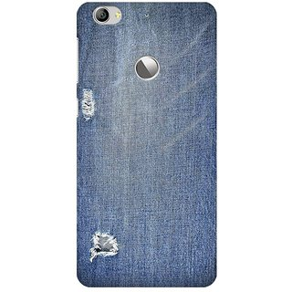 Mobicture Abstract Denim Print Premium Printed High Quality Polycarbonate Hard Back Case Cover For LeEco Le 1s With Edge To Edge Printing