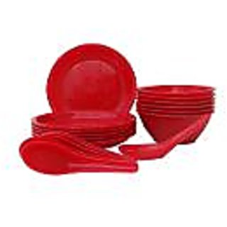 Incrizma Red 18 Pcs soup set