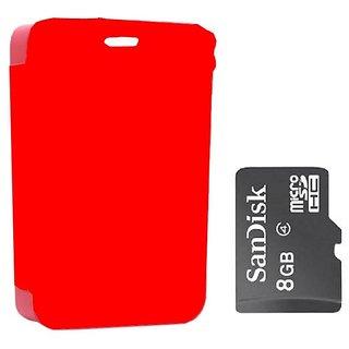 Koloredge flip cover 8gb sandisk memory card for nokia for Wallpaper for home screen nokia asha 501