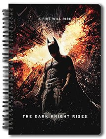 Planet Superheroes Official - Batman - Fire Will Rise - Notebook , licensed by Warner Bros , USA