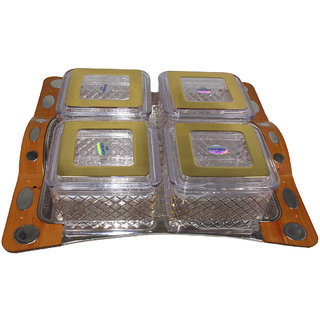 Paramveer Dry Fruit Box / Candy Box /Multipurpose box in Multicolor