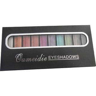 Qumeidie 10 Color Eyeshadow Palette