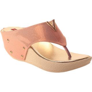 MSC Women Synthetic Pink Sandal