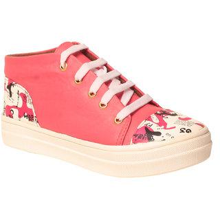 MSC Women Synthetic Red Shoe