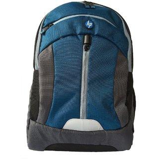HP 15.6 Black  Blue Laptop Backpack Premium