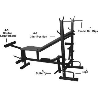 Paramount Bodybuilding Exercise Equipment of 8 IN 1 Machine For Intense  Workout 0ab661f599