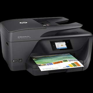 HP OfficeJet Pro 6960 All in One Printer  Print, Scan, Copy, Fax, Wireless, Duplex, ADF  Inkjet Printers
