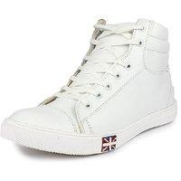 ZebralineZ ,Men'S White Lace-Up Sneakers - 128704798