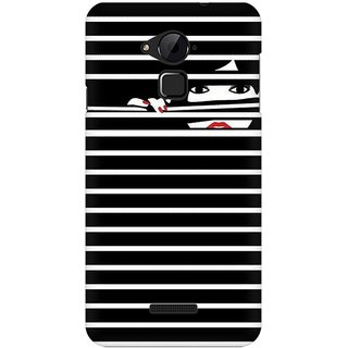 Mobicture Peekaboo Premium Printed High Quality Polycarbonate Hard Back Case Cover For Coolpad Note 3 With Edge To Edge Printing
