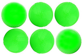 Parbat Green Pu Cricket Wind Ball (Pack Of 6)