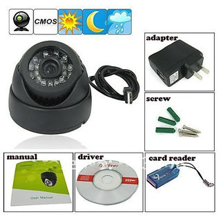 Tf Card Digital Video Recorder Cctv Security Dome Camera Intelligent Detection