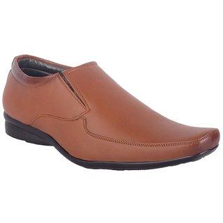 ShoeAdda Classy Formal Shoe Tan 743