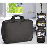 Multipurpose Travel Toiletry Organizer Kit With Detachable Bag