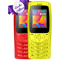 Combo Of IKall K6610 (Dual Sim, 1.8 Inch Display, 800 M