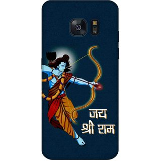lowest price 54495 daf08 Print Opera Hard Plastic Designer Printed Phone Cover for Samsung galaxy s7  edge - Jai Shree Ram blue background