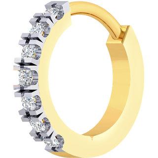 Buy Cygnus 18k Gold Gh Si Diamond Nose Pin Ldnp1063gnbl01 Online