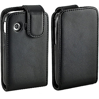 finest selection 9f3e9 cdfde Premium HQ Leather Flip Case Cover for Samsung Galaxy Y S5360
