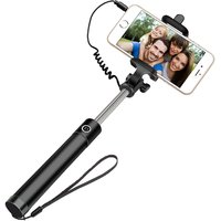 Easy Aux Cable Metal Selfie Stick