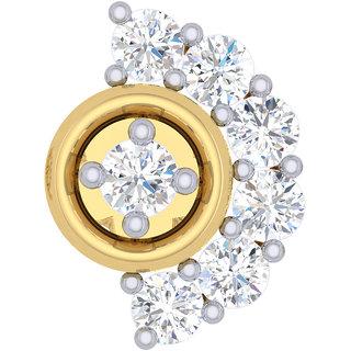 Buy Cygnus 18k Gold Gh Si Diamond Nose Pin Ldnp1046gnfn01 Online