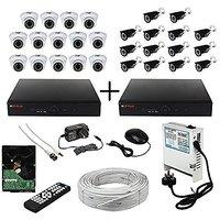 CP PLUS 16 CH+16 CH DVR,14 HD-CVI DOME 14 HD-CVI BULLET