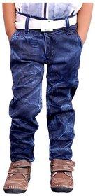 AD & AV Blue Cotton Jeans