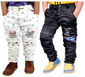 AD & AV Multicolor Pant - Pack Of 2