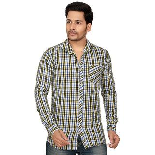 Garun Men's Cotton Casual Slim Fit Shirt