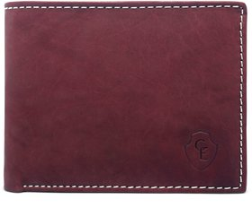 Creative Edge Leather Red Formal Regular Wallet
