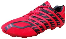 Port Red Beetle Football Shoes