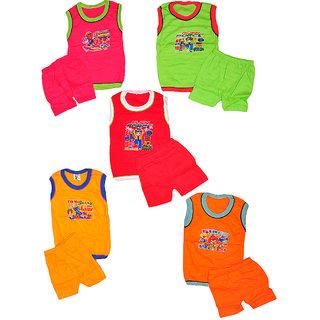 Pari  Prince Kids Baba Suit (set of 5)