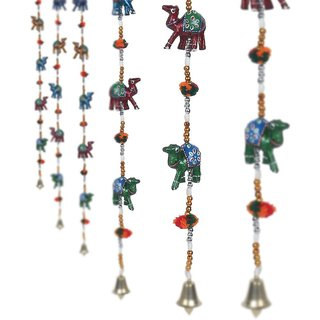 Asmi Collections Rajasthani Camels Door Hanging Home Decor- Set of 2
