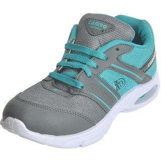 Camro Men's Light Green Grey Stylish Synthetic Training Training Outdoor Shoes