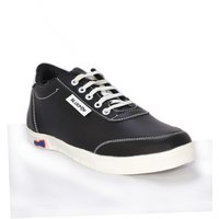 Blue Pop 1231 Black Lace Up Casual Shoes