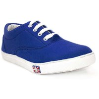 Blue 606 Lace Up Canvas Casual Shoes