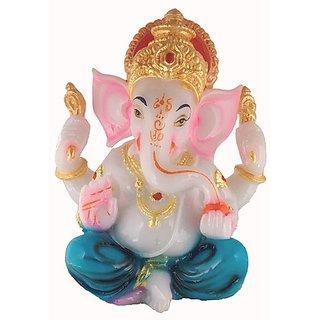 Poly Marble Ganesh Idol
