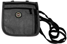 Viaggi Ultra slim Black travel Neck Pouch