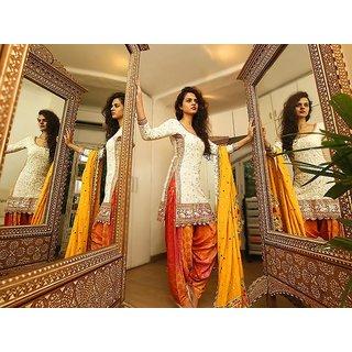 FKART White Cotton Salwar