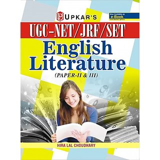 UGC NET/JRF/SET English Literature (Paper-II  III).