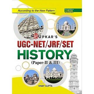 UGC NET/JRF/SET History (Paper-II  III)