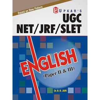 UGC NET/JRF/SLET English ( Paper-II  III)