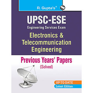 UPSC Electronic  Telecommunication Engineering (Solved) Papers